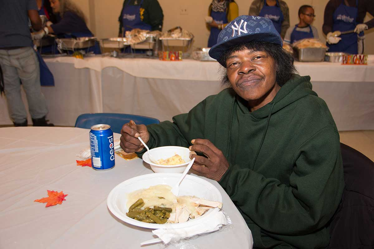 Thanksgiving at Goodwill Rescue Mission